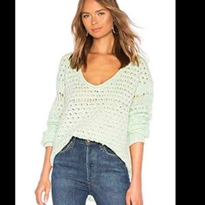 Free People Crashing Wave Pullover XS